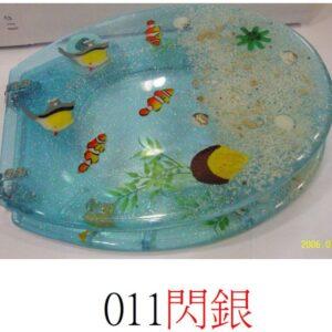 通用樹脂水晶廁板011