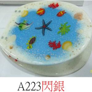 通用樹脂水晶廁板A223